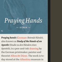 Article typography